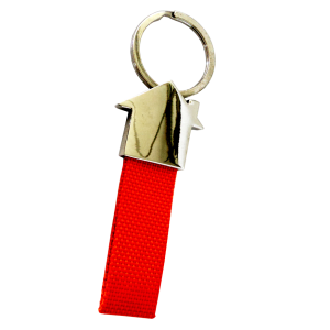 HOUSE MODEL RUBBER BANDED KEY TAG