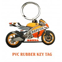PVC RUBBER KEY TAG