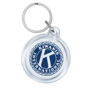 ACRYLIC ROUND SHAPE KEY TAG